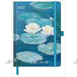 Claude Monet 2022 - Buchkalender - Taschenkalender - Kunstkalender - 16x22 calendar Książki i Komiksy