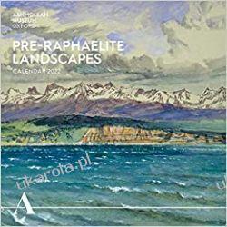 Kalendarz Ashmolean Museum: Pre-Raphaelite Landscapes Wall Calendar 2022 Książki i Komiksy