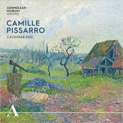 Kalendarz Camille Pissarro 2022 Art Calendar Książki i Komiksy