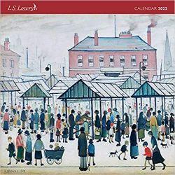 Kalendarz L. S. Lowry 2022 Calendar Książki i Komiksy