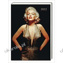 Kalendarz książkowy Marilyn Monroe 2022 Taschenkalender Original Gifted Stationery-Desk Diary Książki i Komiksy