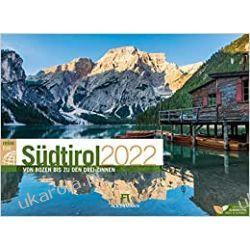Kalendarz Południowy Tyrol 2022 South Tirol Calendar Książki i Komiksy