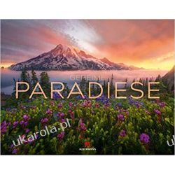 Kalendarz ukryte rajskie miejsca Geheime Paradiese Kalender 2022 calendar Książki i Komiksy