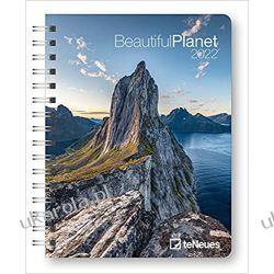 Kalendarz książkowy Beautiful Planet 2022 diary Calendar  Kalendarze ścienne