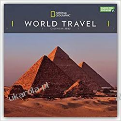 National Geographic World Travel – Weltreise 2022 calendar Kalendarze ścienne