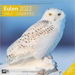 Kalendarz z sowami Eulen Kalender 2022 - 30x30 calendar owls