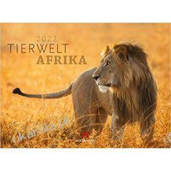 Kalendarz zwierzęta Afryki Tierwelt Afrika Kalender 2022 calendar african wildlife Kalendarze ścienne