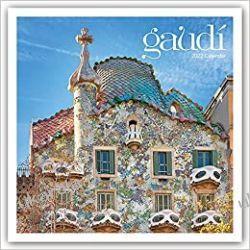 Kalendarz Gaudí - Antoni Gaudí 2022 Calendar Książki i Komiksy