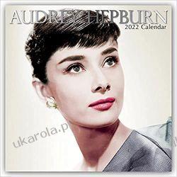 Kalendarz Audrey Hepburn 2022 Calendar Książki i Komiksy