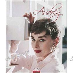 Audrey Hepburn 2022 calendar duży Książki i Komiksy