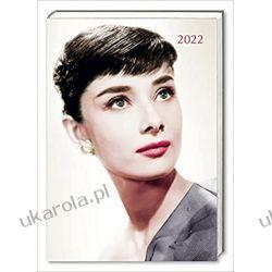 Kalendarz książkowy Audrey Hepburn 2022 diary calendar Książki i Komiksy