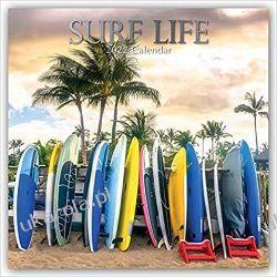 Surf Life – Surfen – Surfing 2022 calendar Książki i Komiksy
