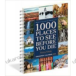 2022 1,000 Places to See Before You Die Diary Kalendarz  Książki i Komiksy