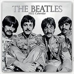 Kalendarz The Beatles 2022 Calendar Książki i Komiksy