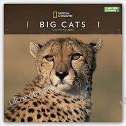Kalendarz Duże Koty National Geographic Big Cats 2022 Calendar
