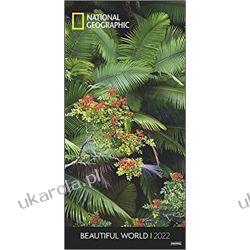 Beautiful World Vertical National Geographic Kalender 2022 calendar piękny świat Książki i Komiksy