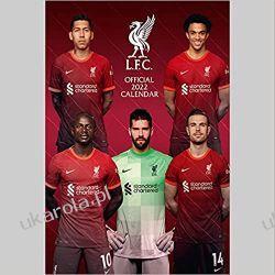 Liverpool FC 2022 Calendar Książki i Komiksy