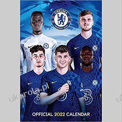 Official Chelsea Football Club 2022 Calendar Książki i Komiksy