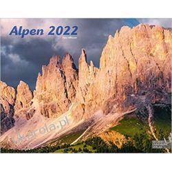 Kalendarz Alpy Alpen 2022 The Alps Calendar Książki i Komiksy