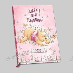 Official Winnie The Pooh 2022 Diary - Week To View A5 Size Diary calendar kubuś puchatek Książki i Komiksy