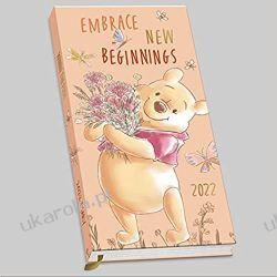 Official Winnie The Pooh 2022 Diary - Week To View Pocket Size Diary calendar mały Książki i Komiksy