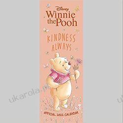 Official Winnie The Pooh (Sketch) 2022 Calendar - Month To View Slim Wall Calendar kubuś puchatek Książki i Komiksy