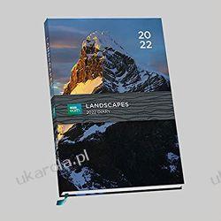 Official BBC Earth Landscape 2022 Diary - Week To View A5 Size Diary calendar Książki i Komiksy
