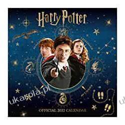 Official Harry Potter 2022 Calendar - Month To View Square Wall Calendar  Książki i Komiksy