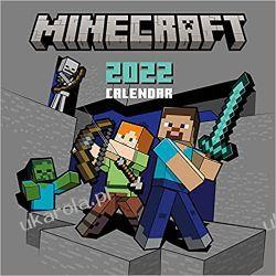 Official Minecraft 2022 Calendar - Month To View Square Wall Calendar  Książki i Komiksy