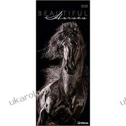 Kalendarz Konie Beautiful Horses 2022 Calendar Książki i Komiksy