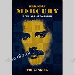 Kalendarz Freddie Mercury 2022 - A3 Calendar Książki i Komiksy