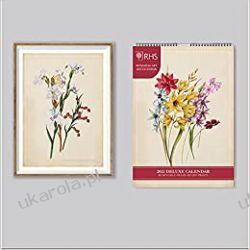 Kalendarz Official Royal Horticultural Society 2022 Calendar Książki i Komiksy