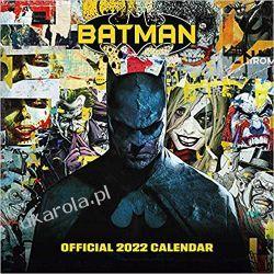 Official Batman Comics 2022 Calendar - Month To View Square Wall Calendar Książki i Komiksy