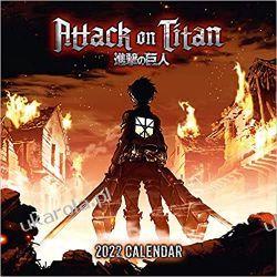 Official Attack On Titan 2022 Calendar Książki i Komiksy