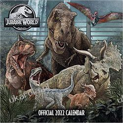 Official Jurassic World 2022 Calendar Książki i Komiksy