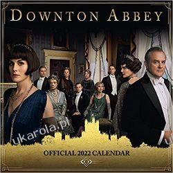 Official Downton Abbey 2022 Calendar Książki i Komiksy