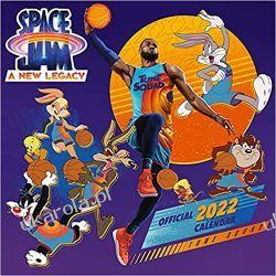 Kosmiczny Mecz Official Space Jam 2022 Calendar Książki i Komiksy