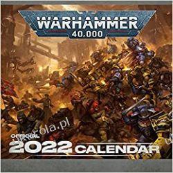 Official Warhammer 2022 Calendar  Książki i Komiksy