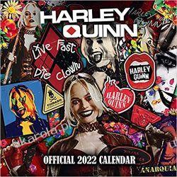 Official Harley Quinn 2022 Calendar Książki i Komiksy
