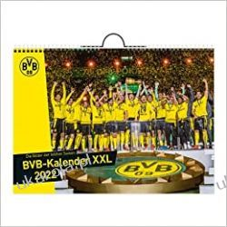 Borussia Dortmund BVB 2022 Calendar