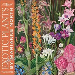 Kew Gardens Exotic Plants by Marianne North Wall Calendar 2022 (Art Calendar)