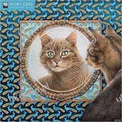 Ivory Cats – Lesley Anne Ivorys Katzen 2022 calendar