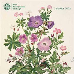 Royal Botanic Garden Edinburgh Wall Calendar 2022 Książki i Komiksy