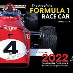 The Art of the Formula 1 Race Car 2022 calendar F1 Książki i Komiksy