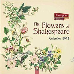 Shakespeare Birthplace Trust Wall Calendar 2022 kwiaty rośliny Gadżety i akcesoria
