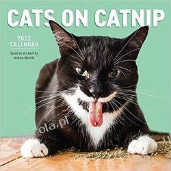 Cats on Catnip Wall Calendar 2022 Koty Gadżety i akcesoria