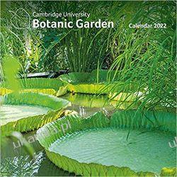 Botanic Garden 2022 Cabridge University Calendar Gadżety i akcesoria