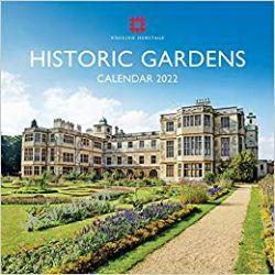 Historic Gardens 2022 calendar Gadżety i akcesoria
