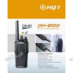 Radiotelefon analogowo-cyfrowy DMR HQT DH-8100 VHF