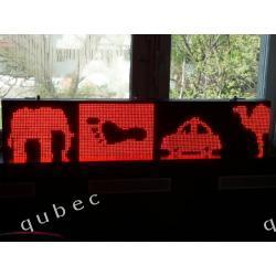 Reklama Świetlna LED - 1600 x 320 - P10 - zewnętrzna